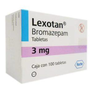 Lexotan Bromazepam 3MG
