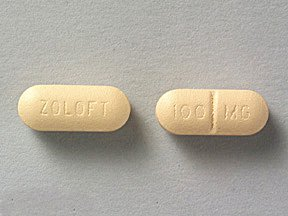 Zoloft Sertraline 100MG