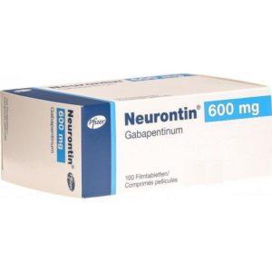 Neurontin Gabapentin 600MG