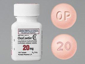 Oxycontin 20mg